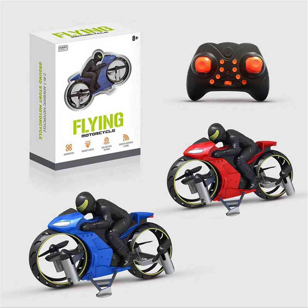 Remote Control Stunt Motorcycle Toy