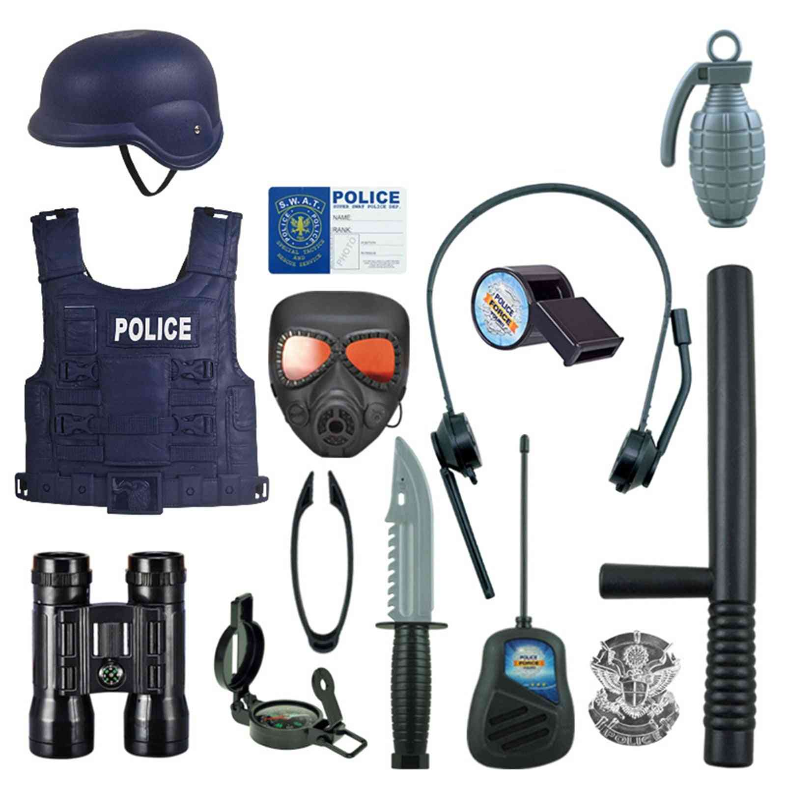 Police Outfit Cosplay Costume