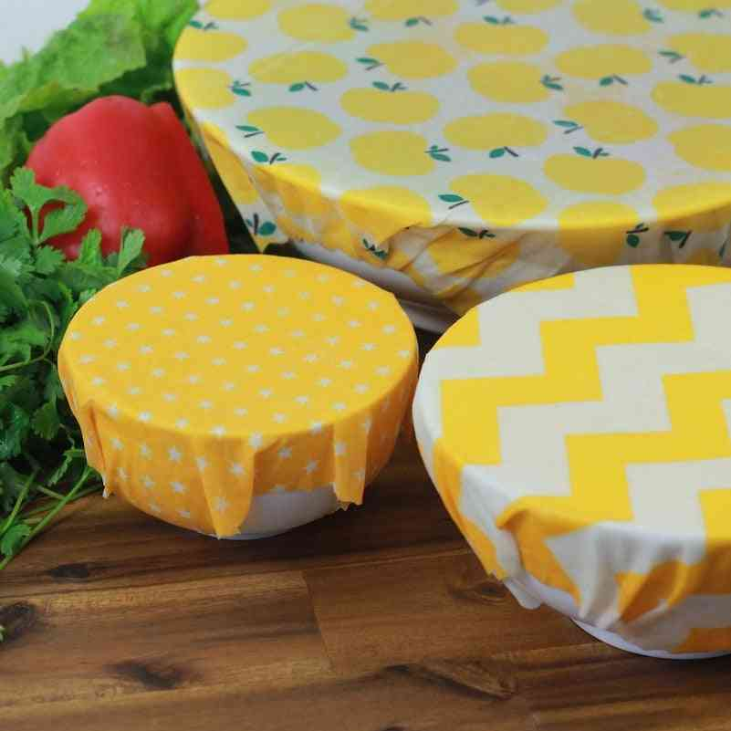 Beeswax Wrap, Eco Friendly Kitchen Organic Natural Food Wraps