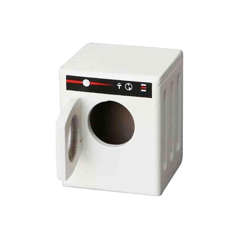 Miniature Roller Washing Machine (white)