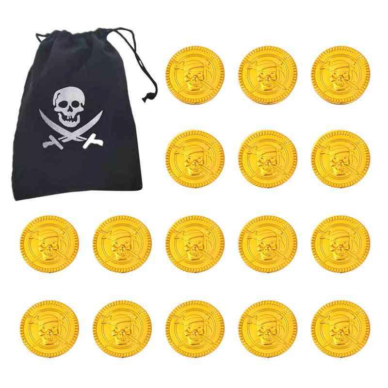 Plastic Coins Halloween