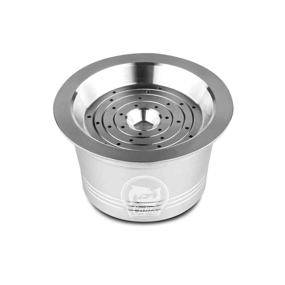 Stainless Steel Refillable Reusable Coffee Capsule