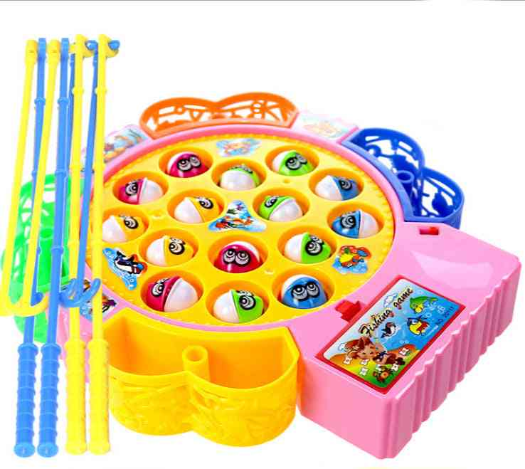 Musical Fish Plate Set Magnetic Outdoor Sports For