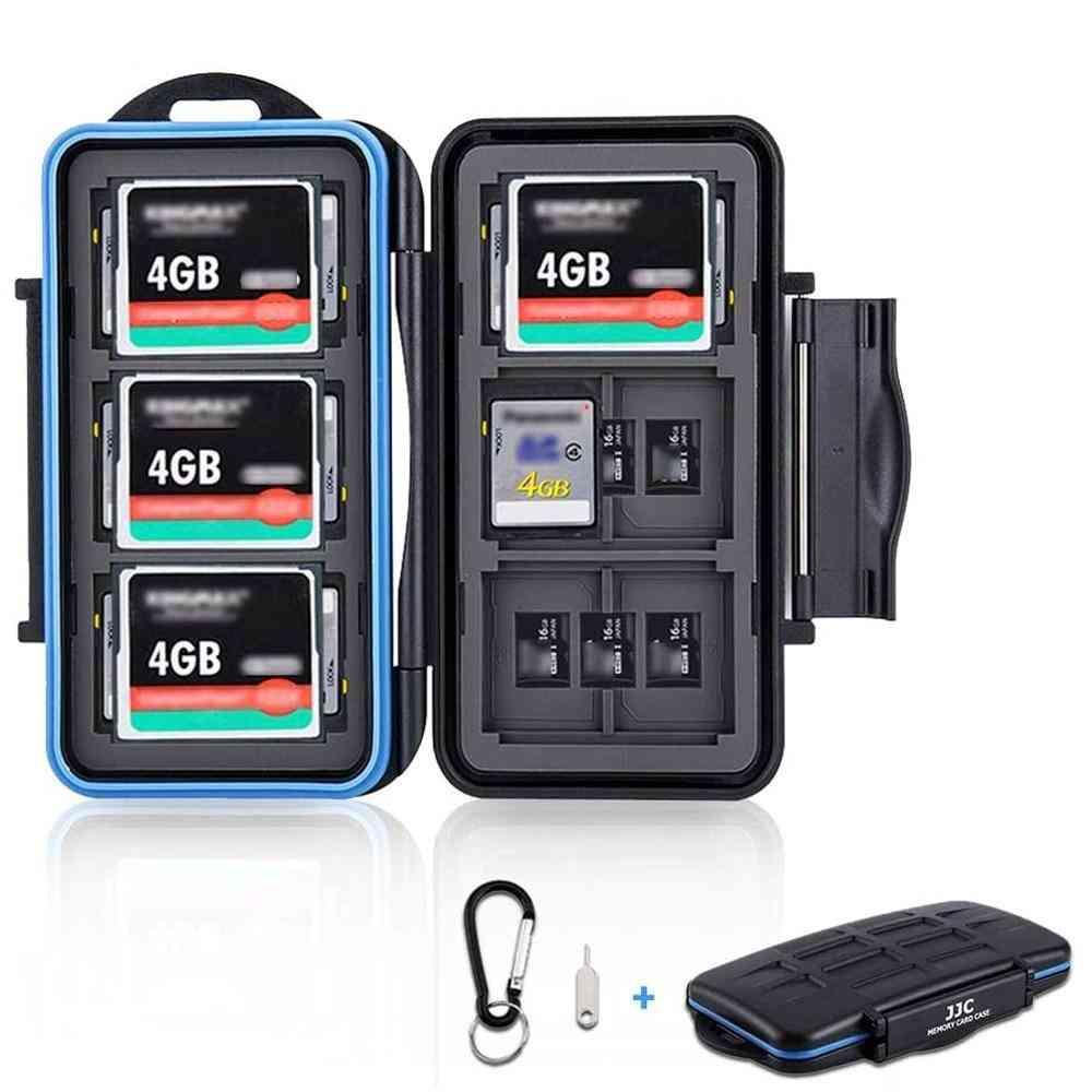 Memory Card Case Holder Storage Box Organizer For Sd, Sdhc, Sdxc, Micro-sd