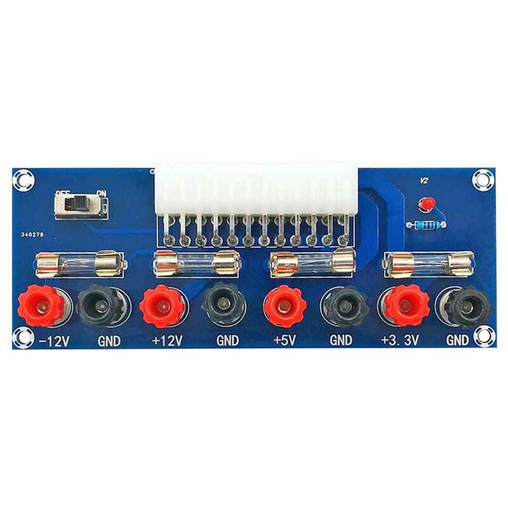 Xh-m229 Desktop Pc Atx Transfer Board Power Supply Adapter Test Module