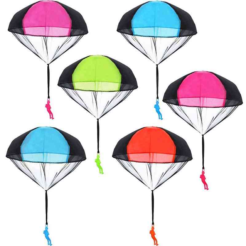 Hand Throwing Parachute Kids Toy