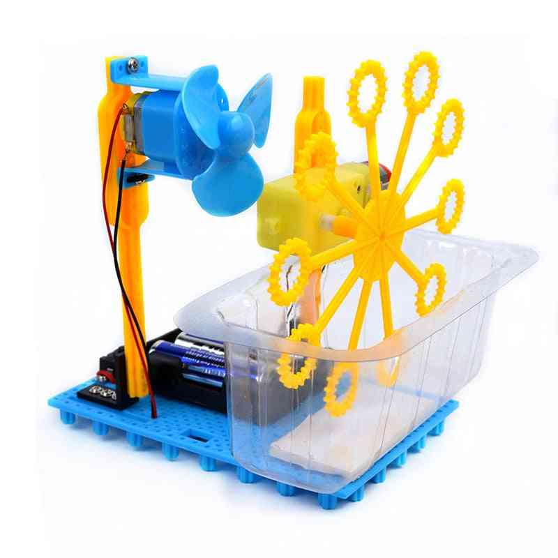 Handmade Bubble Machine