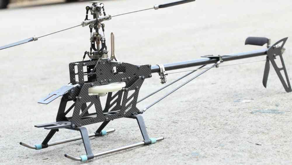Rc Remote Helicopter Kit Carbon Fiber For Align