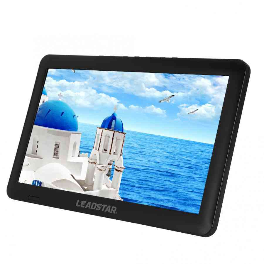11in Dvb-t/t2 1080p Portable Hd Digital Analog Tv With Stand (eu 110-220v) Television