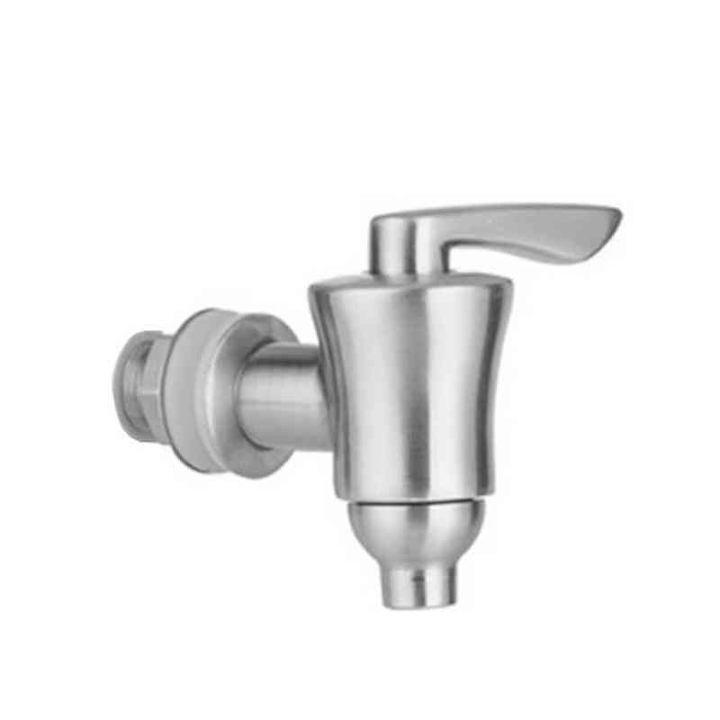Stainless Steel- Water Dispenser, Replacement Faucet With Ceramic Spigot Brushed
