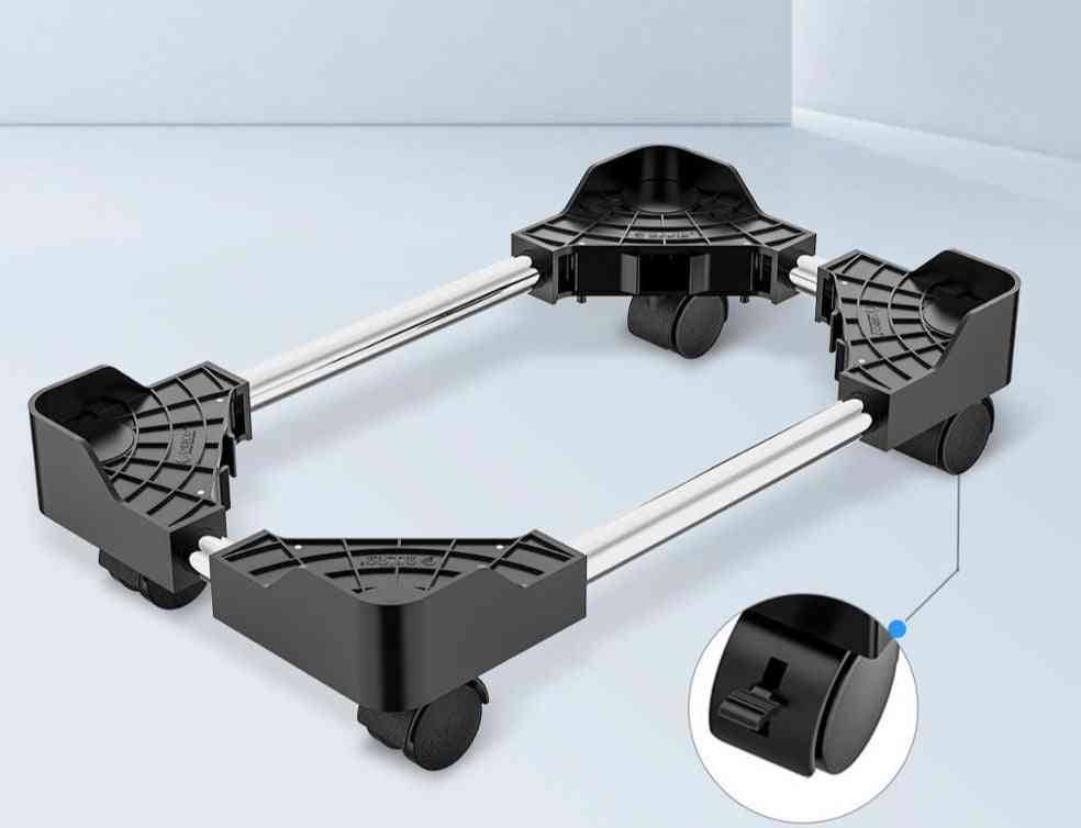 Cpu  Tower Stand Holder With Wheels For Computer, Desktop Mobile