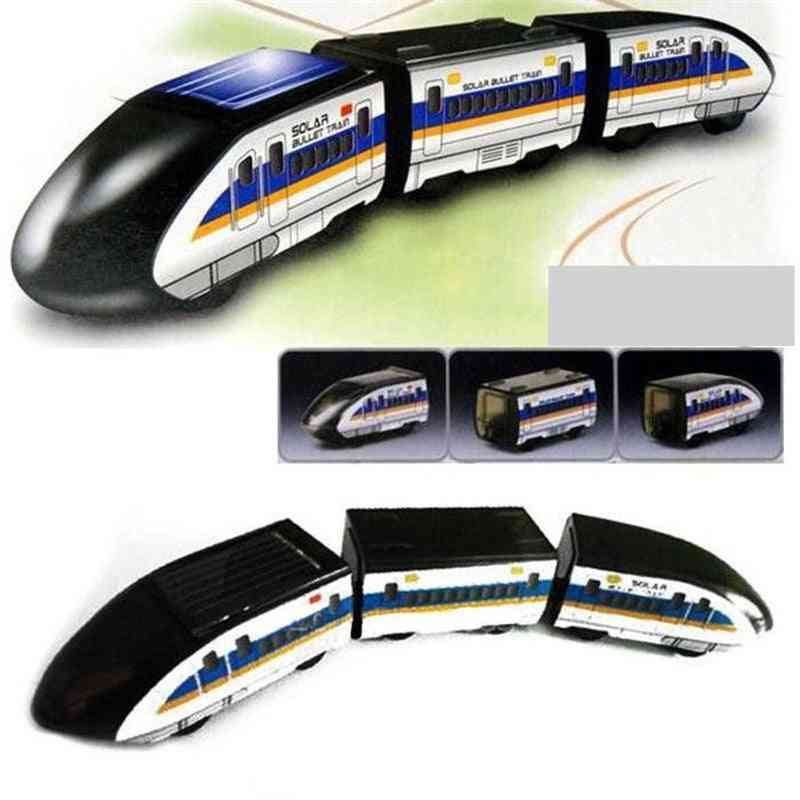 Solar Powered- Train Educational Kits Novelty Toy For