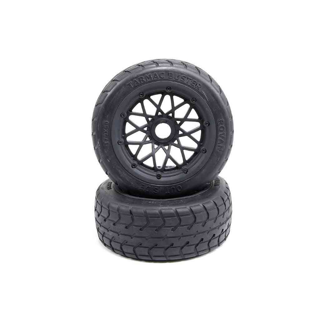 Scale Baja, 5b- Road Thicker Tarmac, Buster Front Wheel Tires