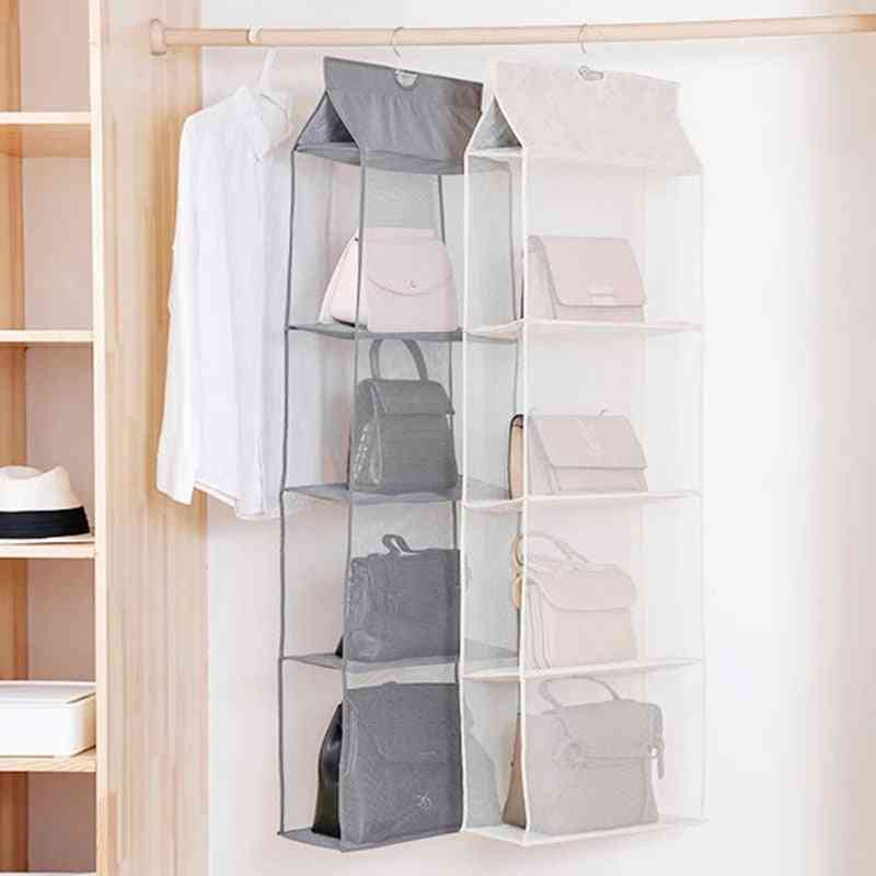 Hanging Bags, Handbag Organizer For Wardrobe Closet