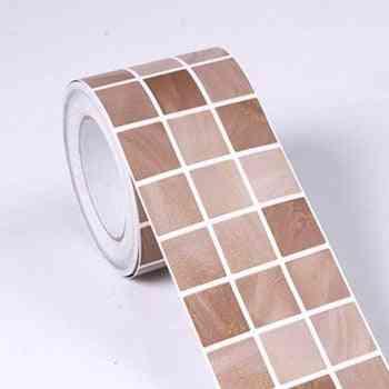 Paper Back Vinyl Wallpapers Tile Sticker