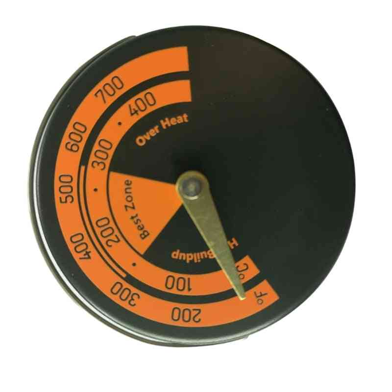 Magnetic Fireplace Fan Stove Thermometer