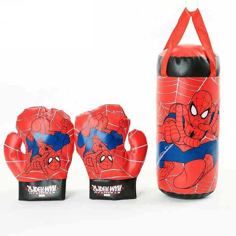 Cartoon Image, Marvel Spiderman, Gloves Sandbag Toy