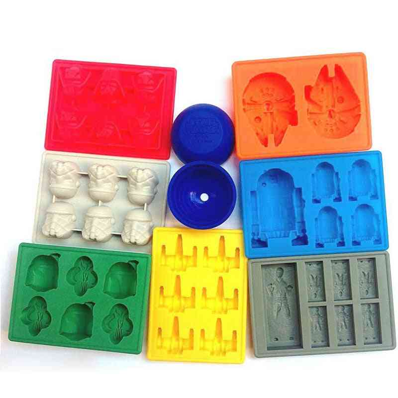 Silicone Mold- Ice Cube Tray, Chocolate Mould