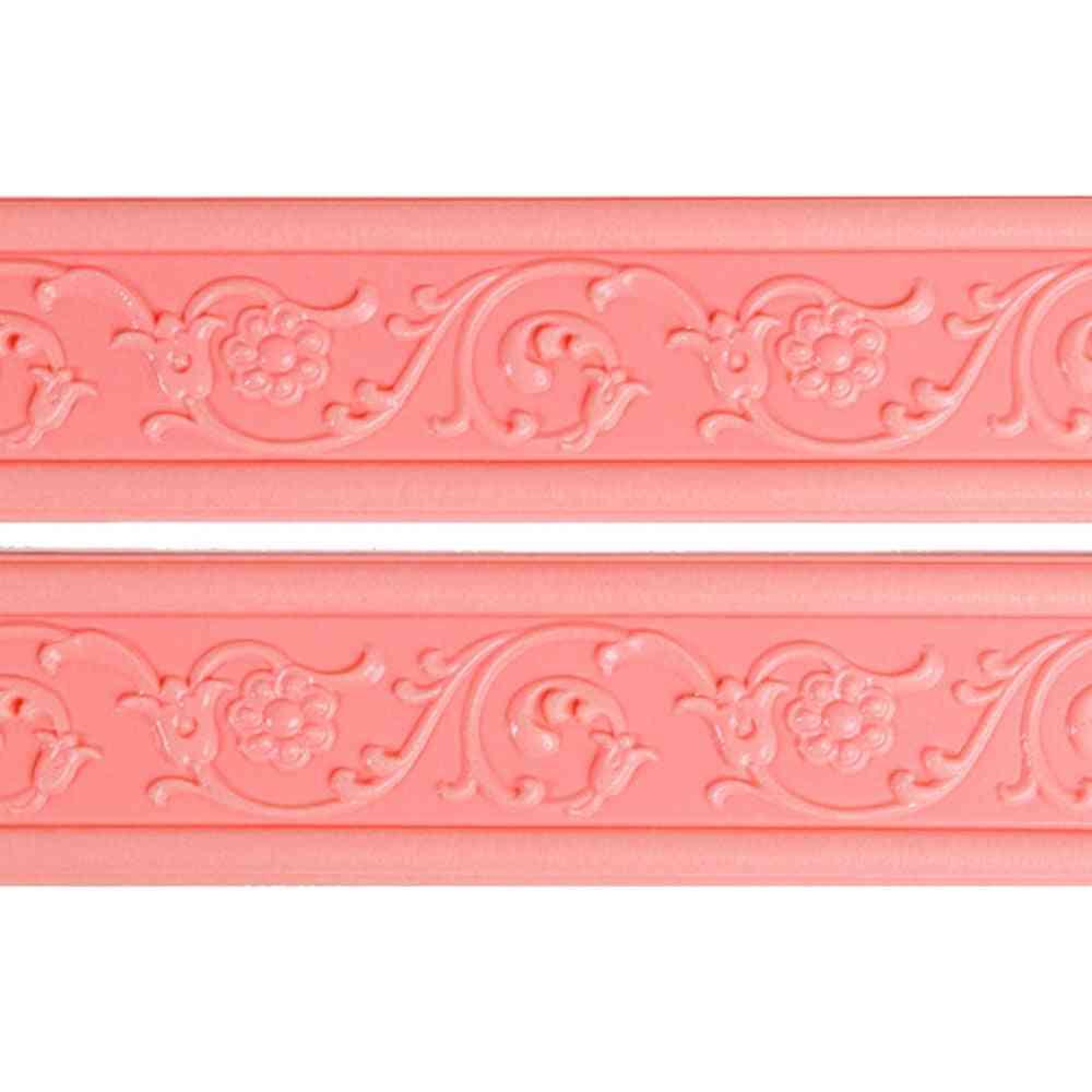 3d- Stereo Baseboard, Waterproof Wallpaper Self-adhesive, Wall Sticker