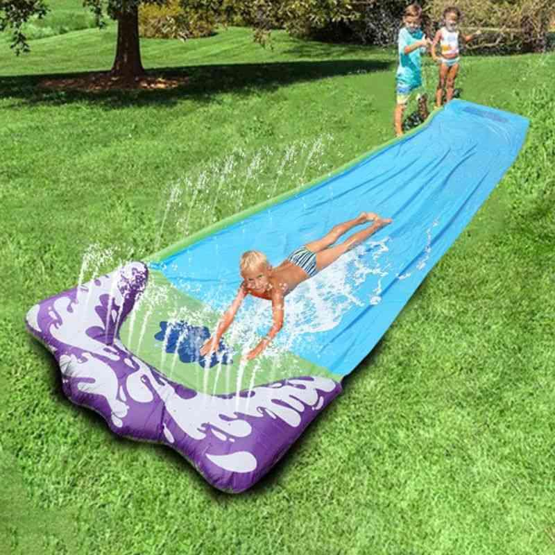 Giant Surf, Fun Lawn Water Slides Pool, Backyard Outdoor
