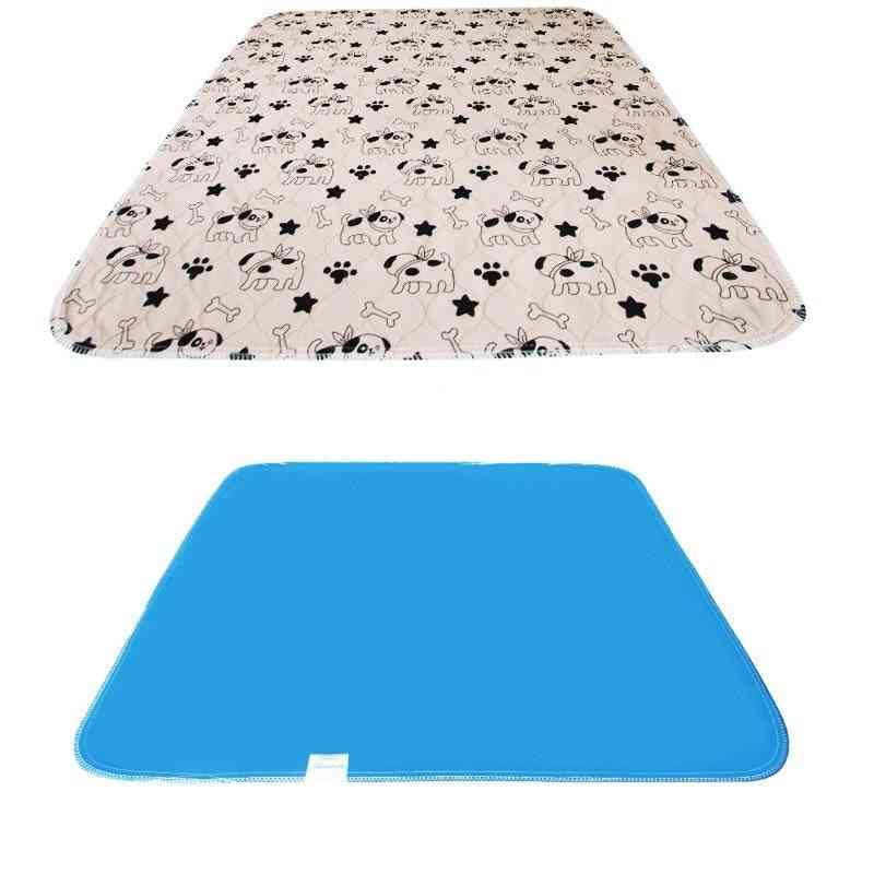 Waterproof Reusable Dog Bed Mats Fast Absorbing Pad Rug