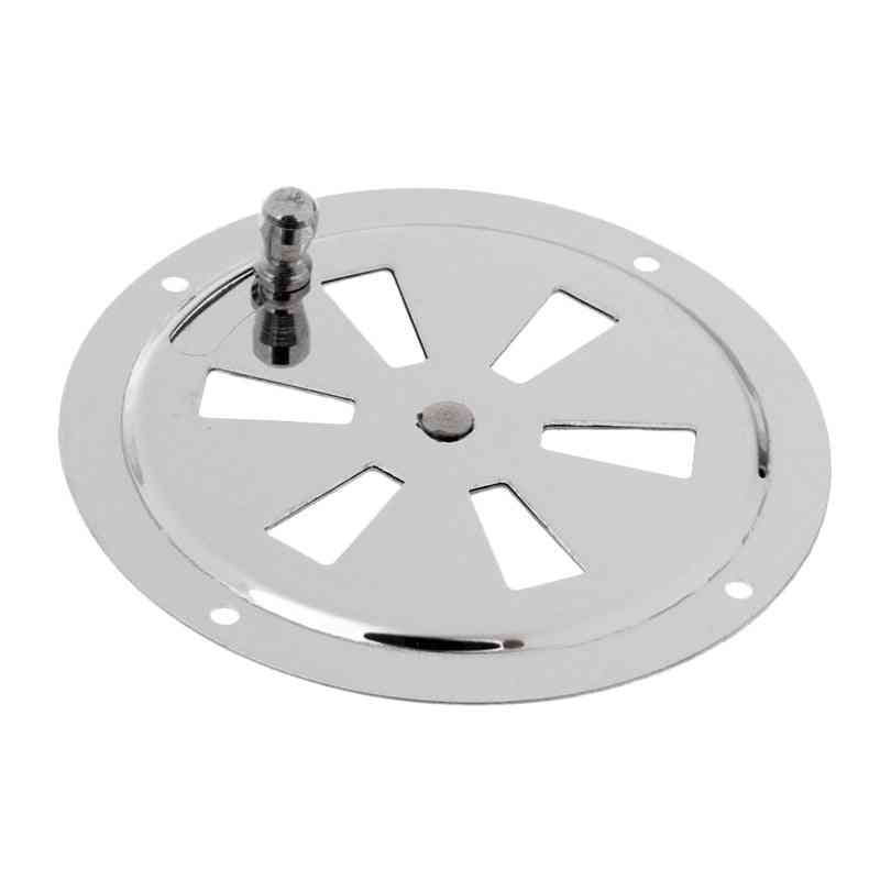 Stainless Steel Boat Marine Round Air Louver Grille Ventilator Cover