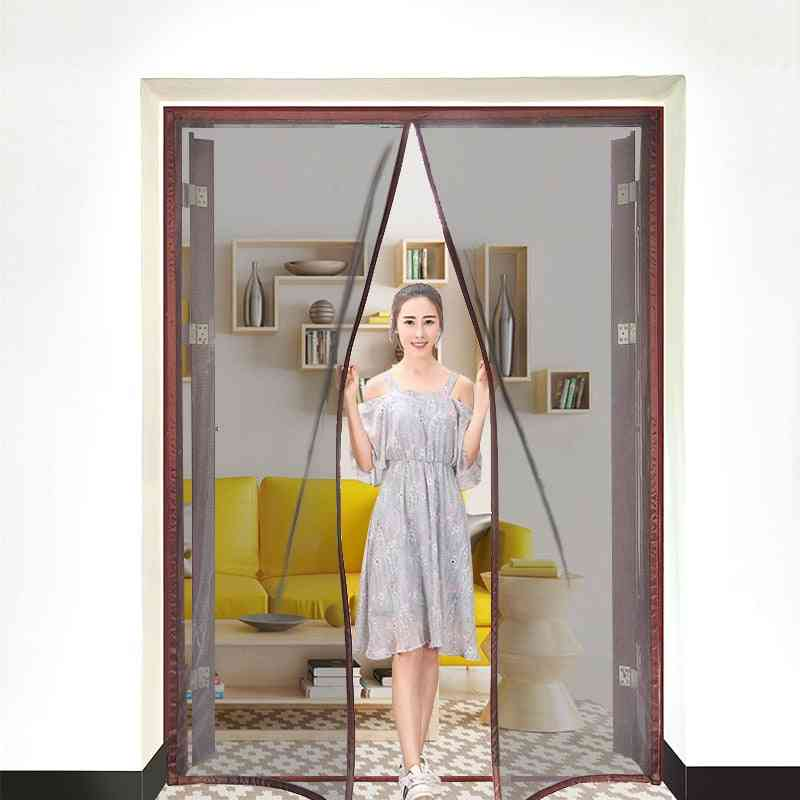 Magnetic Screen Door Curtain, Anti-mosquito Net Fly Insect Screen Mesh