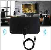 Digital Indoor Freeview Range, Ultra-thin Antena, Tv, Hdtv, High Capture Cable Signal Amplifie Antenna