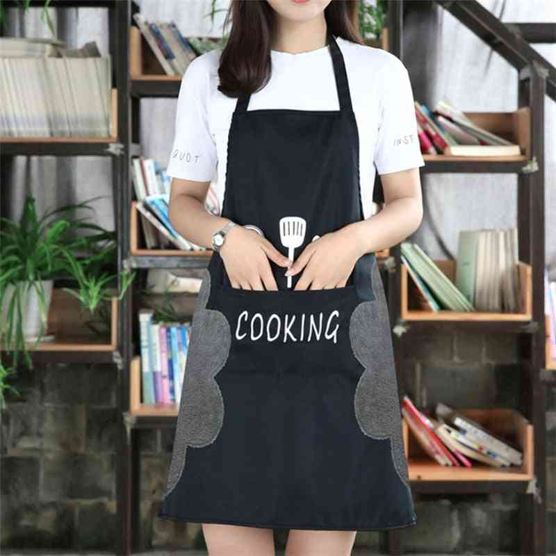Cooking Bib Aprons With Pocket