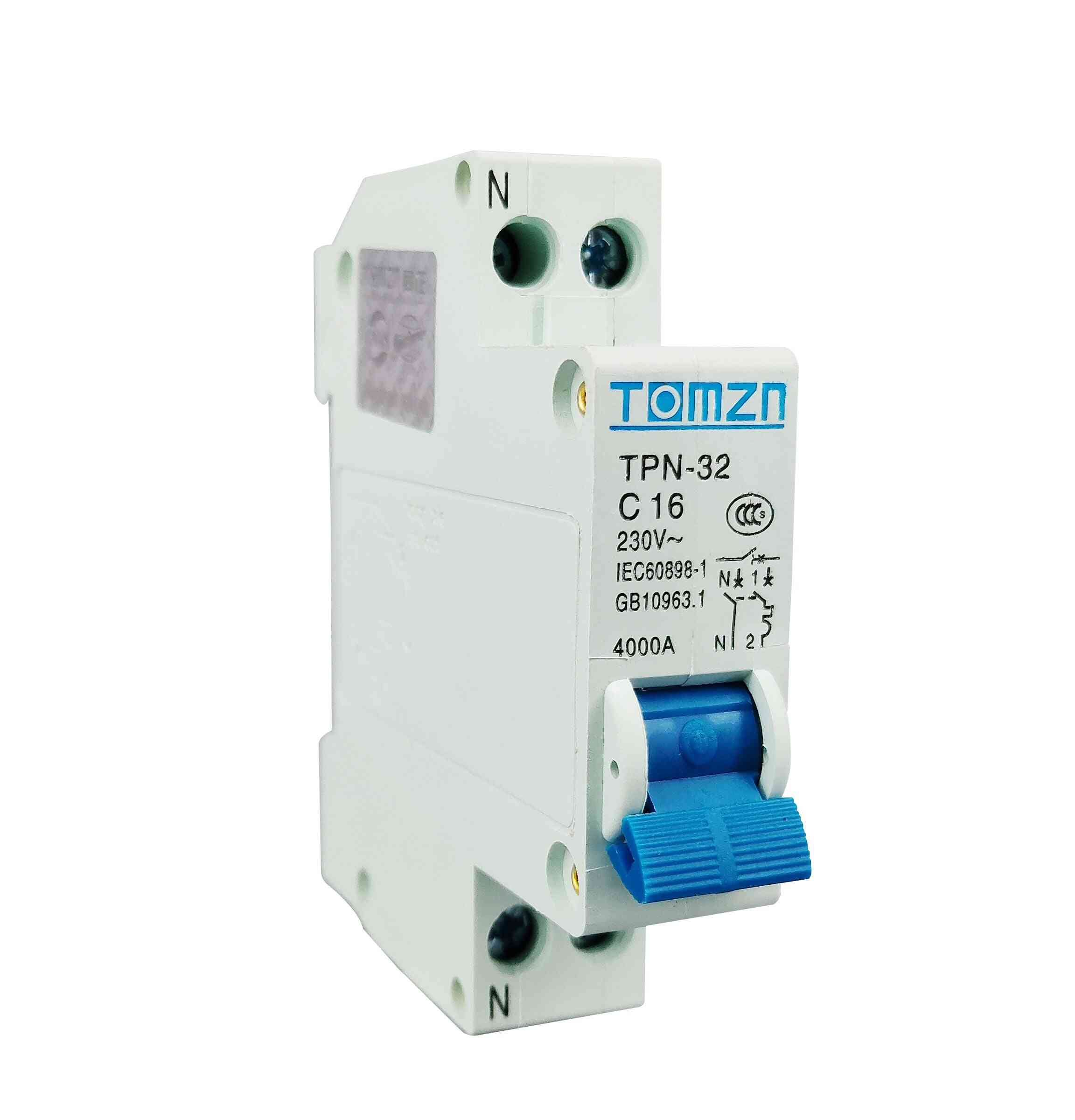 Mini Circuit Breaker Mcb 10a,16a,20a,25a,32a