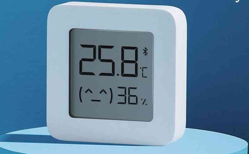 Mijia Bluetooth Thermometer 2 Wireless Smart Lcd Screen Digital Hygrometer Work With Mi Home App