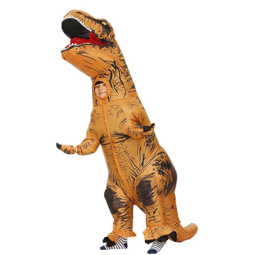 Inflatable Dinosaur Mascot, Cosplay Costume, Women, Kids