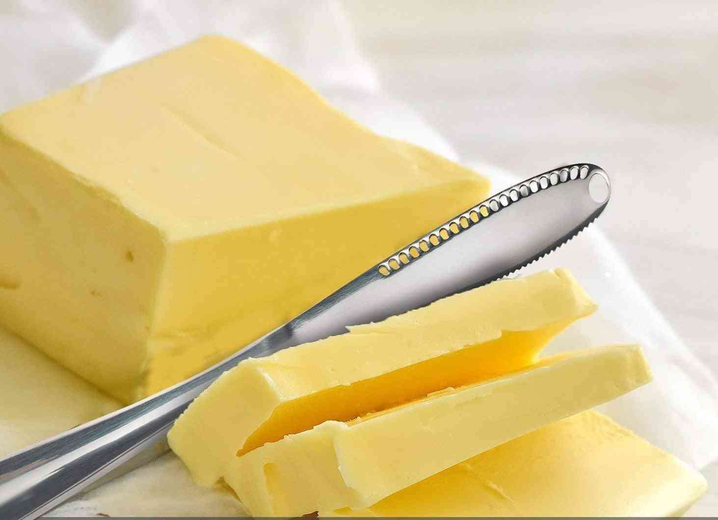 Multifunction Stainless Steel Butter Knife