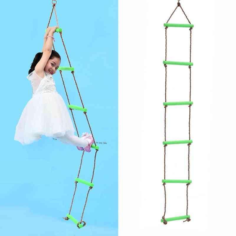 Garden Climbing Ladder Fitness Toy Kids Sport Rope Swing Safety Equipment Courtyard Training