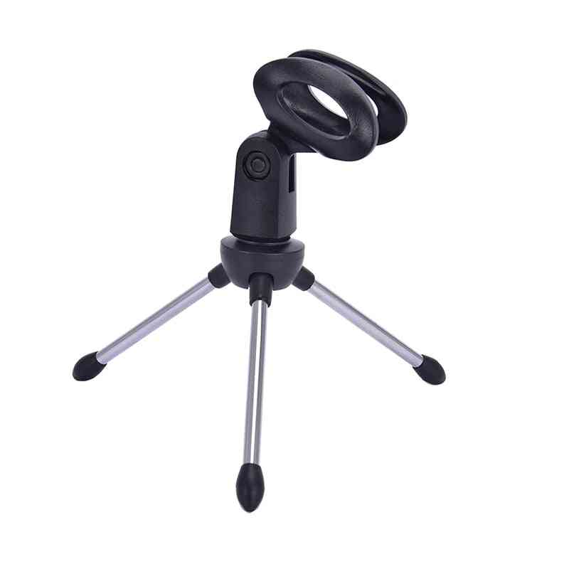 Mic Stand Bracket Desktop Adjustable Microphones Tripods Holder