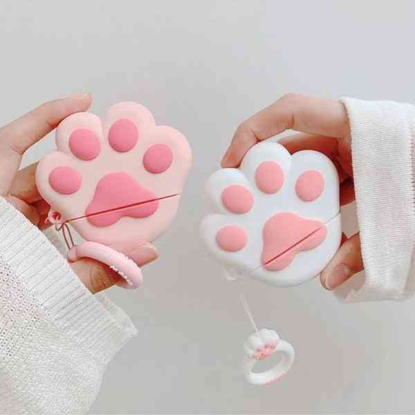 Airpods Dog Foot Silicone Case Cover