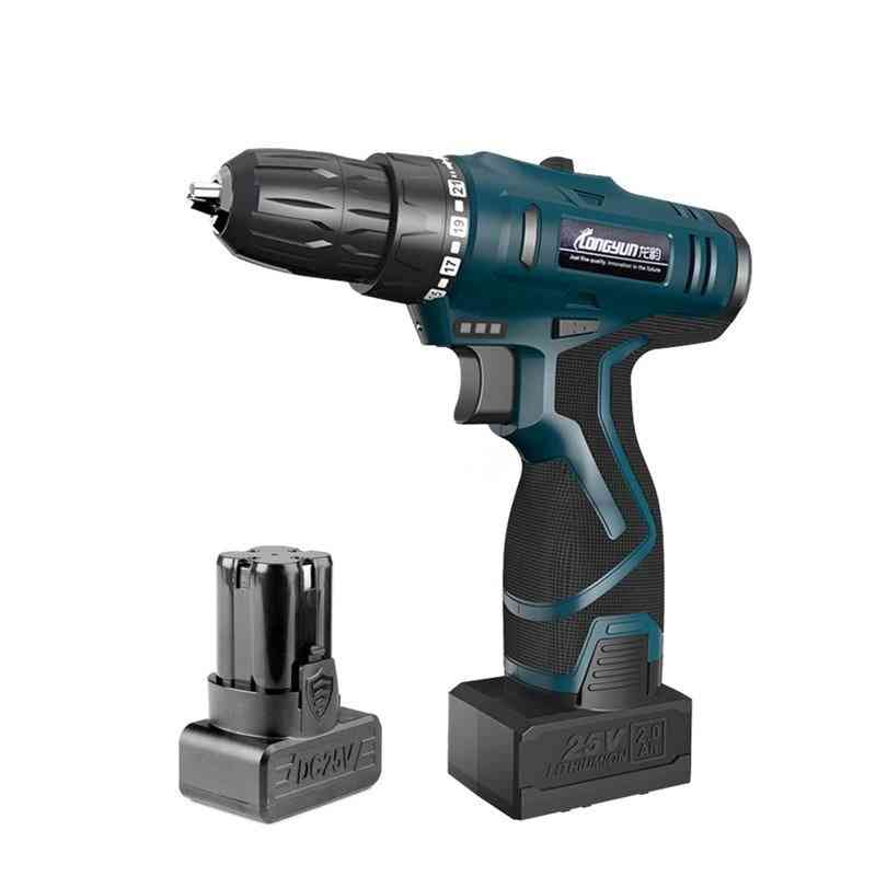 Lithium Battery Wireless Electric Drill