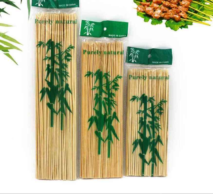 Barbecue Grill, Mats Bamboo Skewers, Grill Shish, Wood Sticks Tools