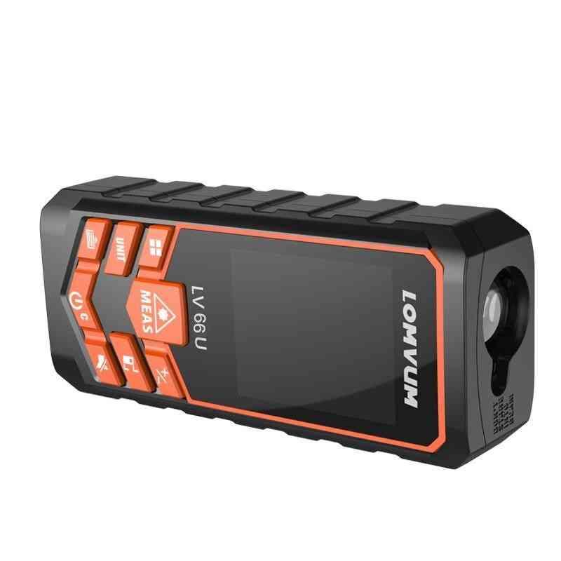 Laser Range Finder Auto Level Distance Meter