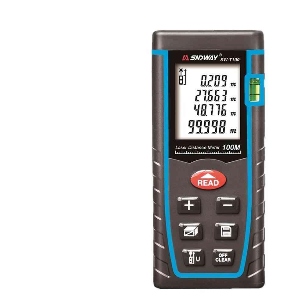 Rangefinder Trena Laser Tape Range Finder Build Measure Device Ruler Test Tool