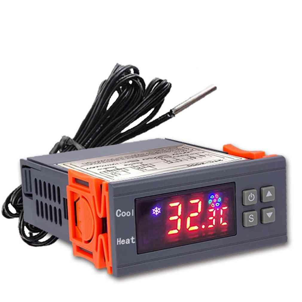High Precision 12v/24v/220v Digital Thermostat Temperature Controller