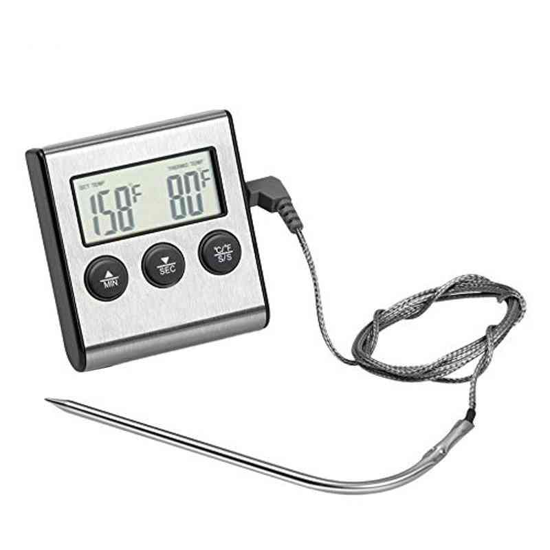 Digital Oven Thermometer With Timer