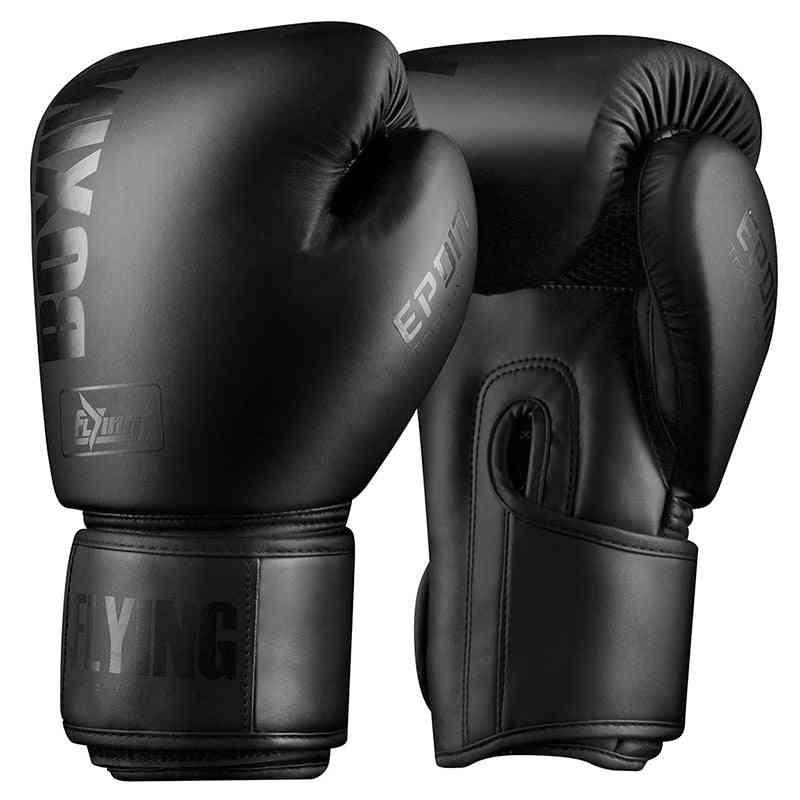 Pu Leather Fight Mma Sandbag Training Gloves