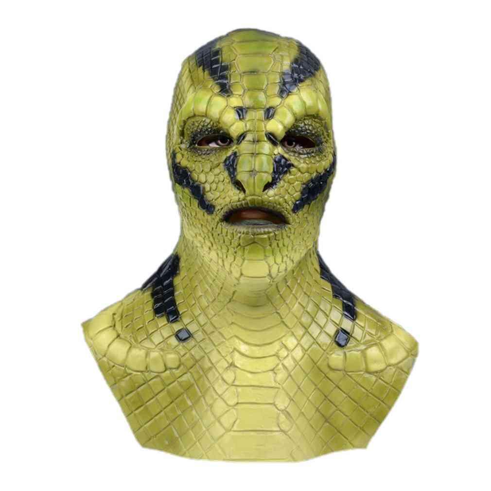 Devil Latex- Cosplay Costume Props, Halloween Horror Masks