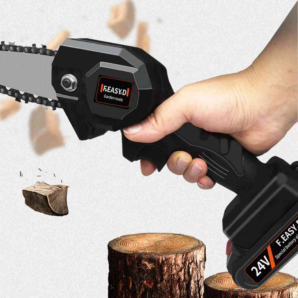 Electric Rechargeable- Pruning Chain Saw