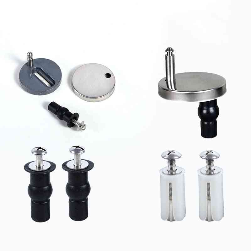 Fittings Screws Toilet Lid Cover Connectors Bolts Accessories