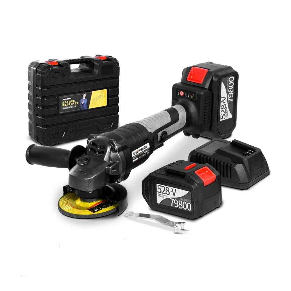 Electric Brushless, Lithuim Battery Cordless, Angle Grinder