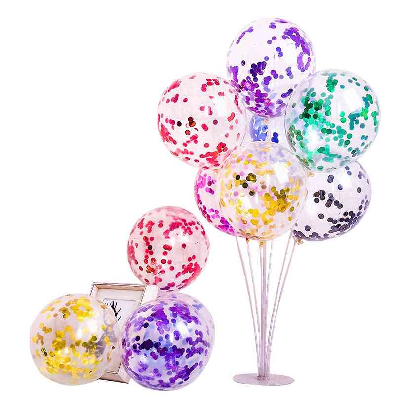 Sequins Cartoon, Hat Balloon Toy For