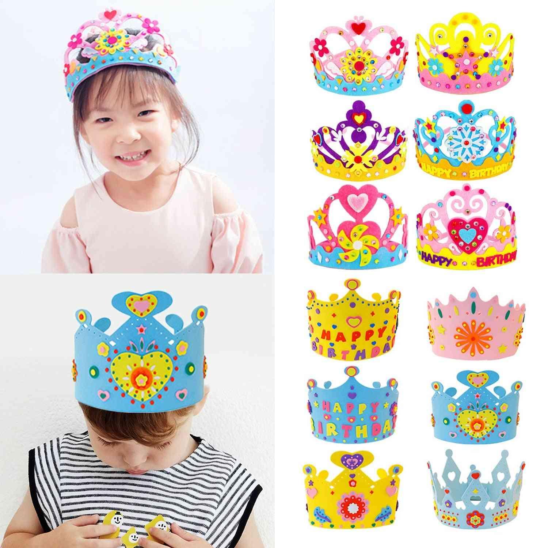 Handmade Crown, Birthday Tiaras Hat, Crafts