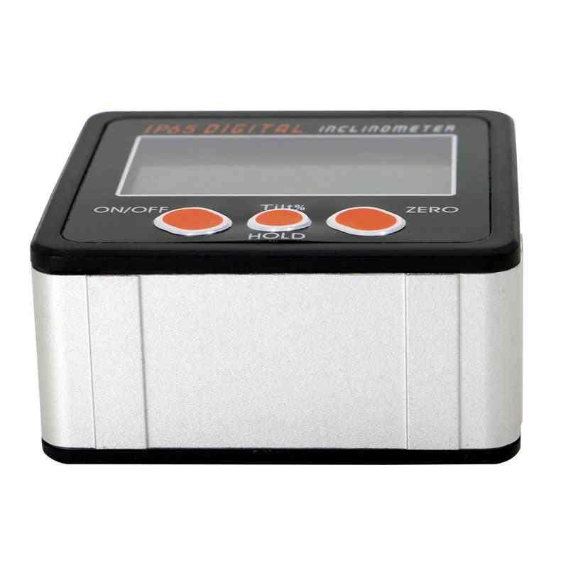 Aluminum- Enclose Electronic Protractor, Inclinometer Bevel Box